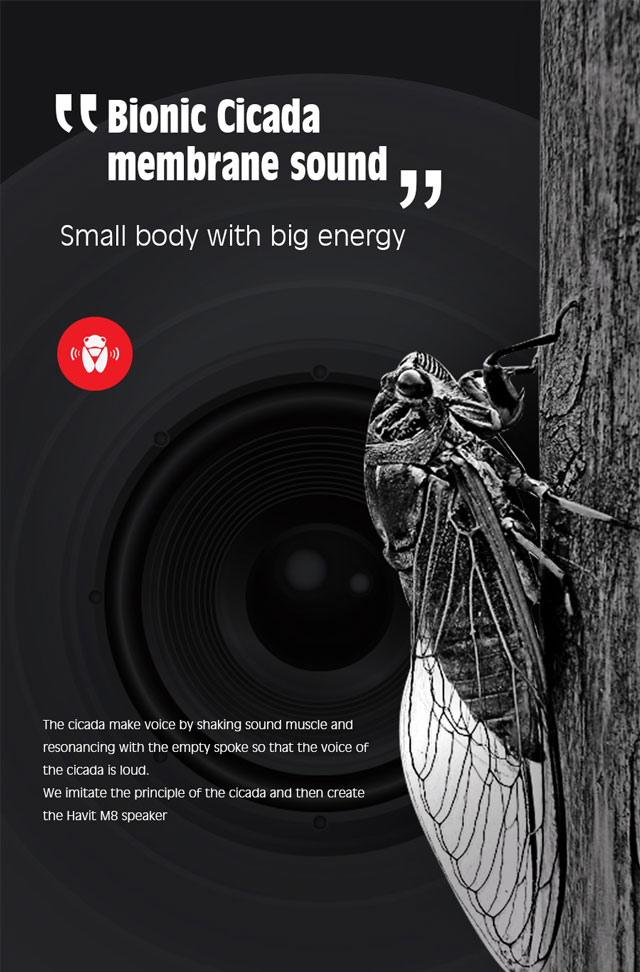 Boxa Bluetooth Mini | Havit M8 5