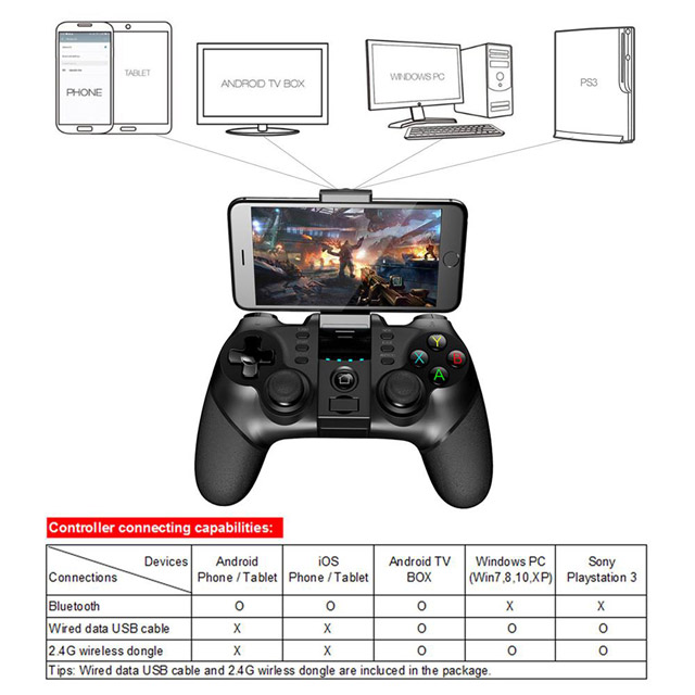 Controller Bluetooth Ipega 9076 6