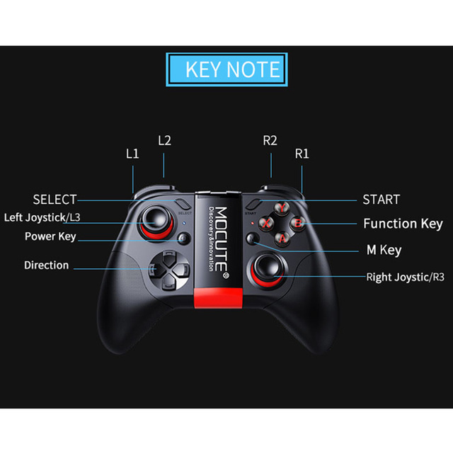 Controller Bluetooth Mocute 4