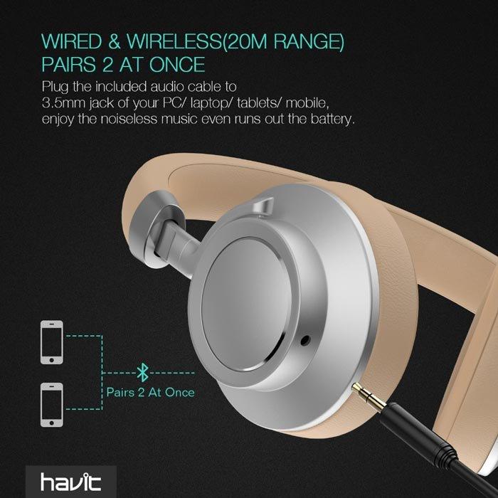 Casti Wireless Havit I18 1