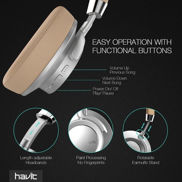 Casti Wireless Havit I18 2