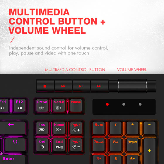Tastatura Mecanica RGB Havit KB366 1