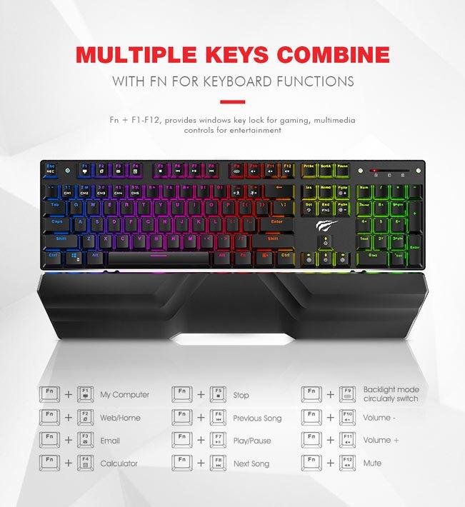 Tastatura Mecanica RGB Havit KB432L 3