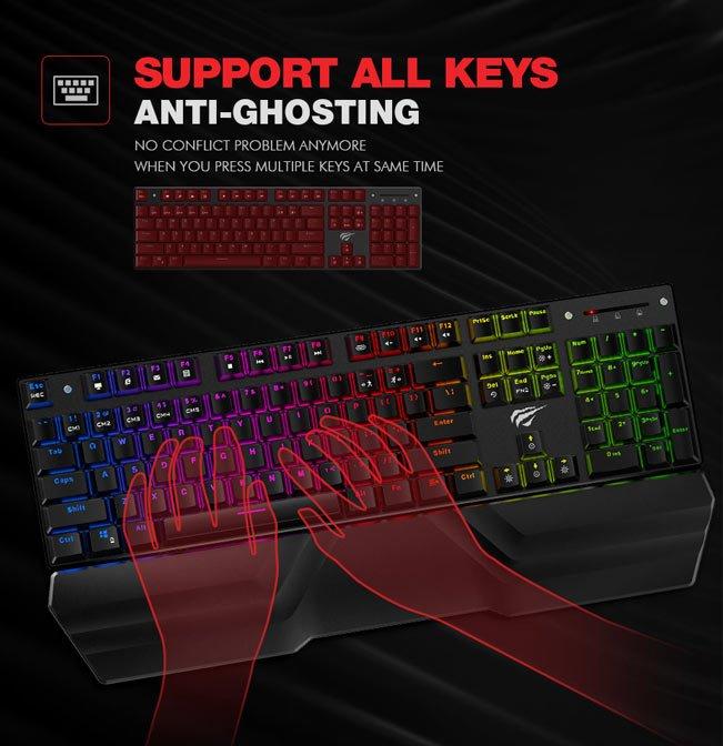 Tastatura Mecanica RGB Havit KB432L 4