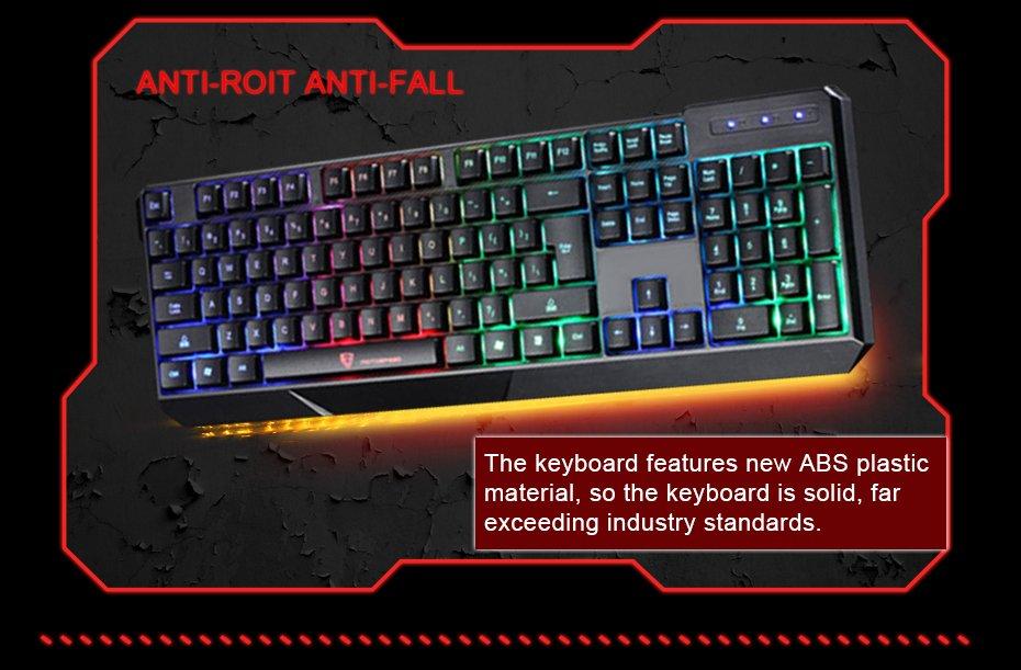 Tastatura RGB Motospeed K70 1