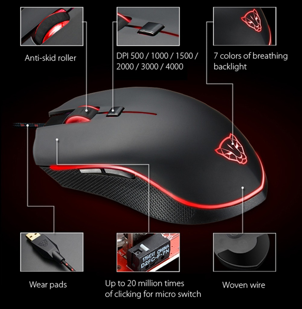 Mouse Motospeed V40 1