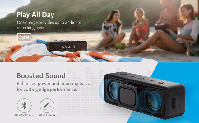 Boxa Bluetooth Anker SoundCore 2 5