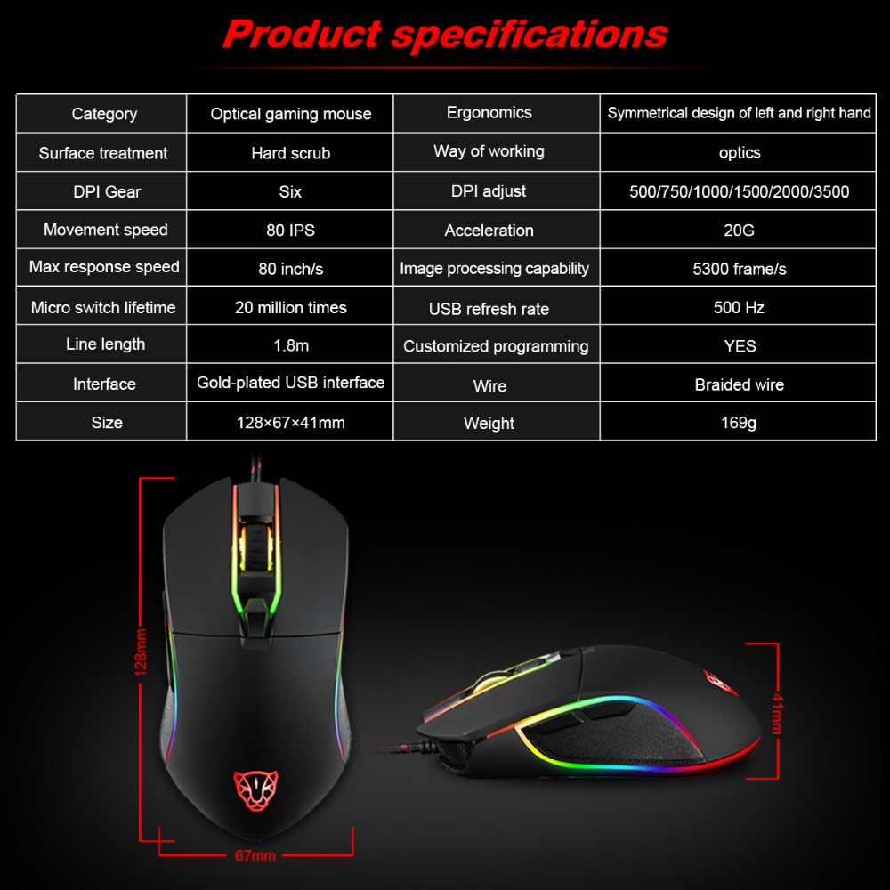 Mouse Motospeed V30 6
