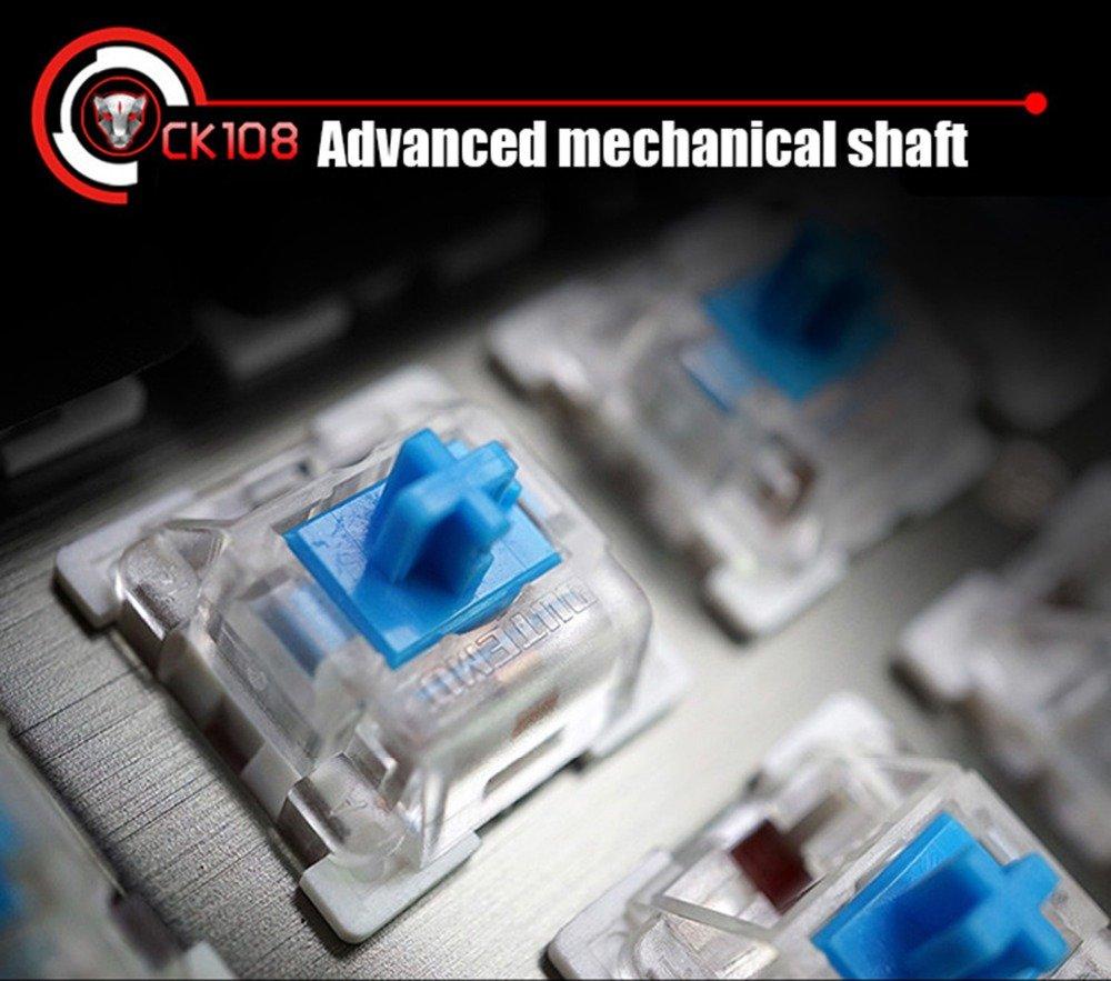 Tastatura Mecanica RGB Motospeed CK108 4