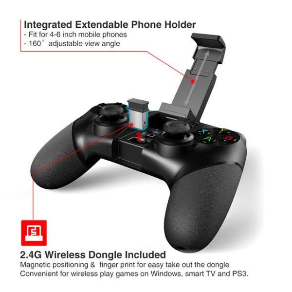 Controller Bluetooth Ipega 9076 4
