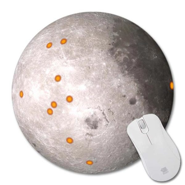 Mouse Pad Moon 5