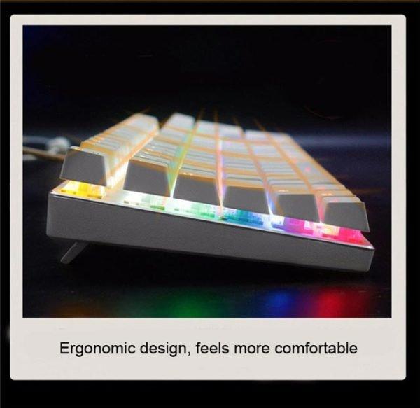 Tastatura Mecanica RGB Metoo M200 3