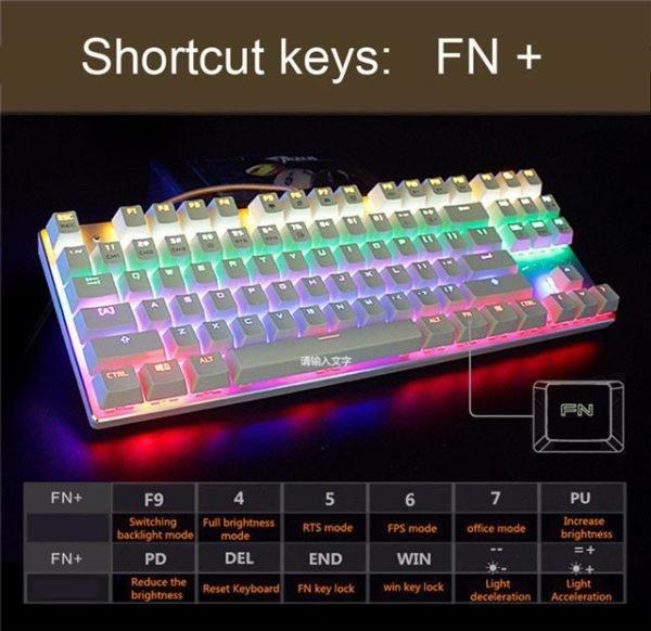 Tastatura Mecanica RGB Metoo M200